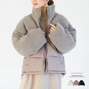 A/W Switch Fake Down Outerwear Coat
