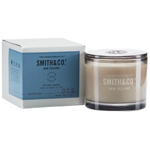 【限定】new Smith&Co. Soy Wax Candle Vanilla Sugar & Lime バニラ シュガー&ライム