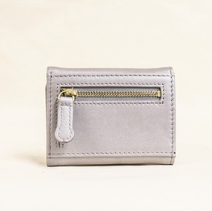 Three Compact Wallet Ladies Silver