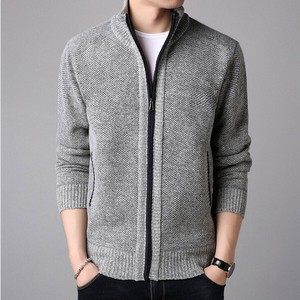 Cardigan Men's Fashion Knitted Coat Knitted Top