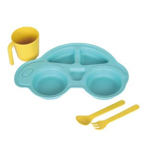 【DULTON ダルトン】M&B KIDS PLATE SET ''CAR''