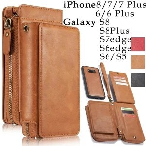 Galaxy S6 Notebook Type Removal Storage Leather Cover Impact