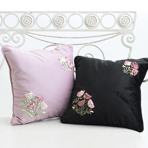 Ribbon Embroidery Cushion Series [ 2020NewItem ]