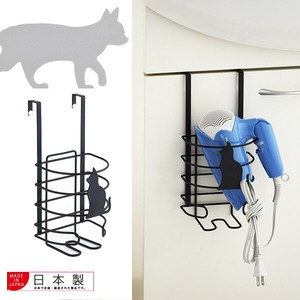 Black cat Hair Dryer Holder
