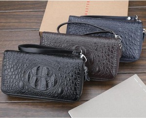 Top Men's Men Clutch Bag Hand Wallet Long Wallet