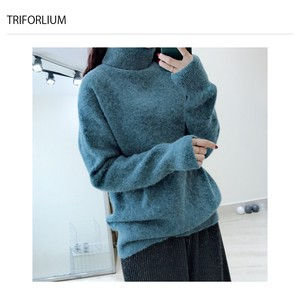 6 Colors Leisurely Soft Turtle Neck Knitted