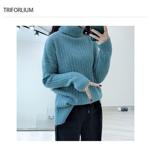 6 Colors Leisurely Soft Stripe Pattern Knitted