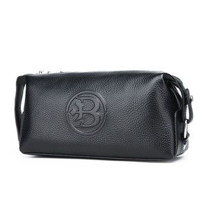 Clutch Bag Wallet Clutch Genuine Leather Long Wallet Men Men's