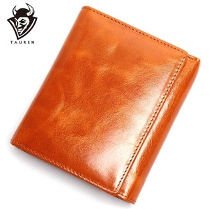 High Quality Genuine Leather Cow Leather Wallet Two Wallet For women Ladies
