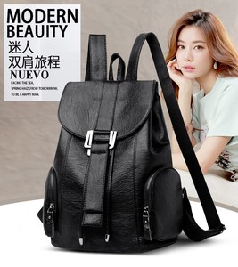 Genuine Leather Ladies Backpack Daypack Backpack