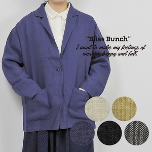 French Linen Big Tailored Jacket