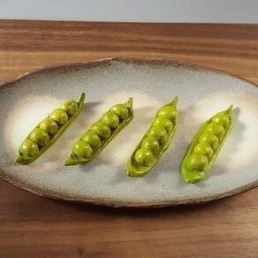 えんどう豆の箸置き