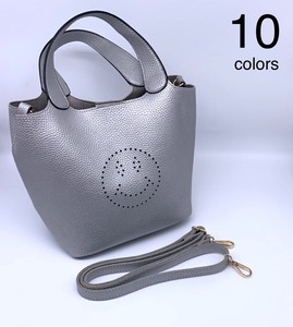 [ 2020NewItem ] Punching 2Way Shoulder Bag Synthetic Leather