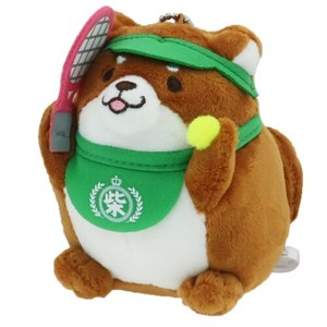 """Mochishiba"" Shiba Inu Dog Soft Toy Ball Chain Okaka Tennis"
