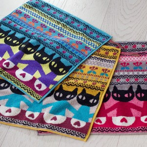S/S Cat Star Wash Towel Towel Collection