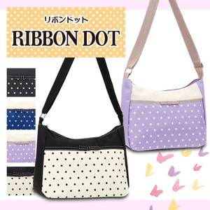 Ribbon Decoration Dot Shoulder Bag Ribbon Dot [2019NewItem]