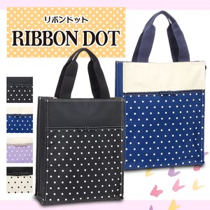 Ribbon Decoration Dot Tote Bag Ribbon Dot [2019NewItem]