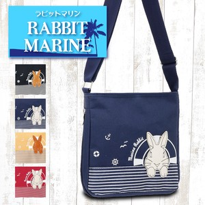 Rabbit Applique Marine Pattern Shoulder Bag Rabbit [2019NewItem]