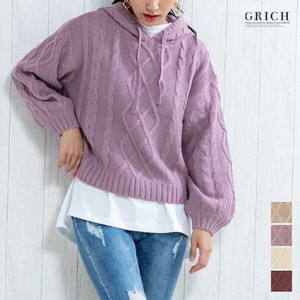 Top Cable Food Pullover Knitted Sweater A/W
