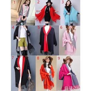 Ladies Coat Elegant Coat Poncho Coat Stole Ladies