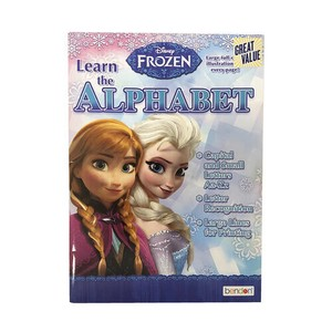 Frozen Work Book Alphabet