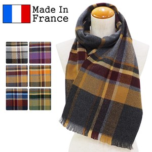 Scarf France Checkered Scarf