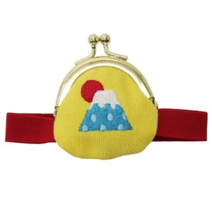 Coin Purse Band Attached Mt. Fuji