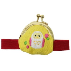 Coin Purse Band Attached Owl