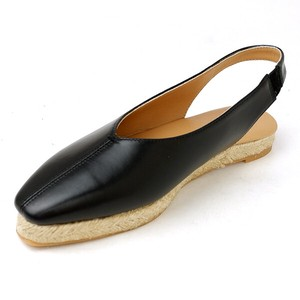 [ 2020NewItem ] Square Sandal Shoe Ladies Leather