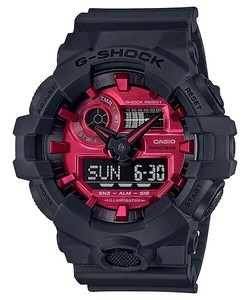 CASIO Model Black and Red