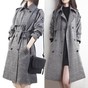 Coat Ladies Long Coat Trench Coat Ladies Long Leisurely