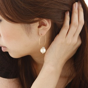 CARUTINA(カルティナ)Cottonperal hoop pierce