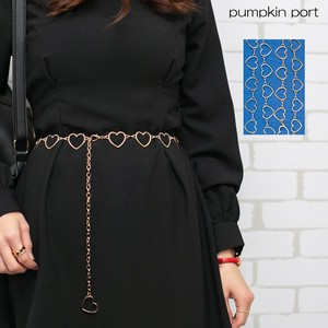 Heart-shaped Ladies Chain Belt