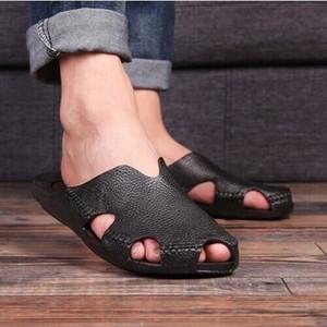 2020新作サンダル ビーチサンダルメンズ ビーサンブランド PUレザー クロッグサンダル アウトドア 靴