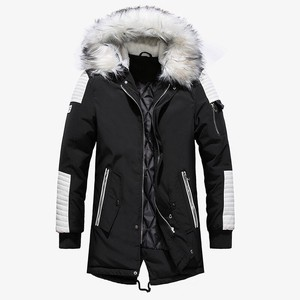 Men's Down Jacket Insulated Jacket Quilt Coat Padding Coat Outerwear Top Casual