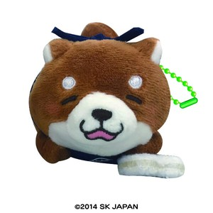 """Mochishiba"" Shiba Inu Dog Soft Toy Ball Chain"