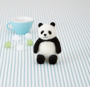 "Felt Panda Bear ""2020 New Item"""
