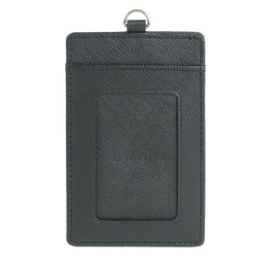 Card Commuter Pass Holder 2 Pcs Card Switching Prevention Cow Leather Commuter Pass Holder
