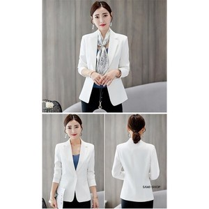 Tailored Jacket Ladies Blazer White