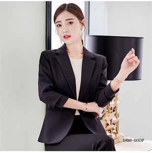 Jacket Tailored Jacket Ladies Blazer White Black