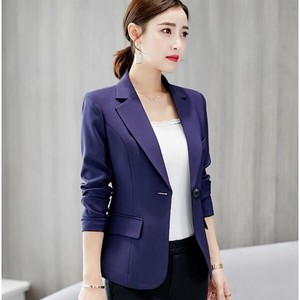 Tailored Jacket Ladies Suits Jacket Navy