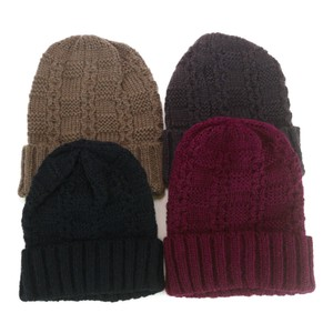Change Knitted Watch Cap Ladies Hats & Cap