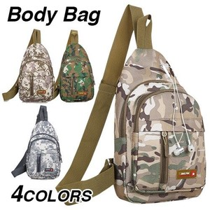 Body Bag Men's Single-shoulder Bag Dazzle Paint Camouflage Sacosh Military Body Bag