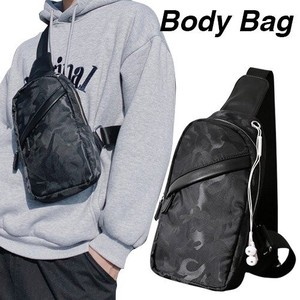 Body Bag Men's Single-shoulder Bag Diagonally Sacosh Body Bag