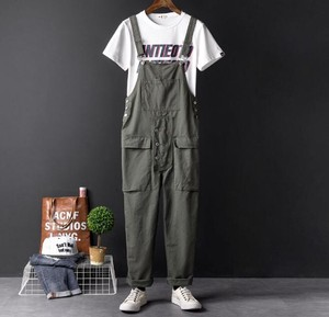 Men's Overall Overall Connection Suspender Inter Casual