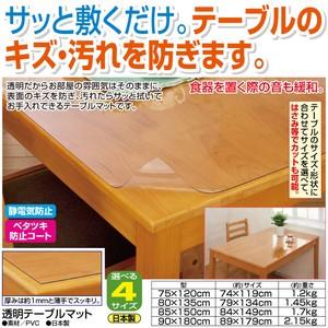 <日本製> 透明テーブルマット