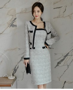 Top One-piece Dress Set One-piece Dress Ladies Jacket Formal