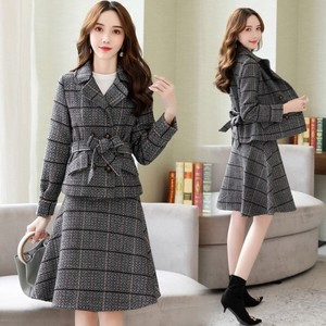 Ladies Suits with Pants Formal Ladies Suit Set Ceremony Suits 2 Pcs Set Gray
