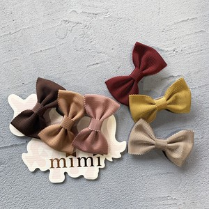 mimi Hair Clip 3 Pcs Ribbon Slip
