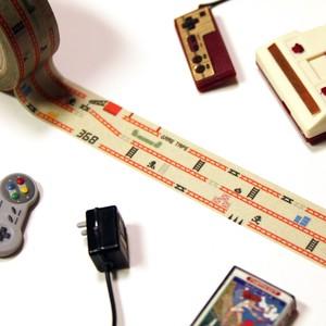 レトロゲームなマスキングテープ ゲームウォッチ・ファミコン好きにおすすめのゲームマステ